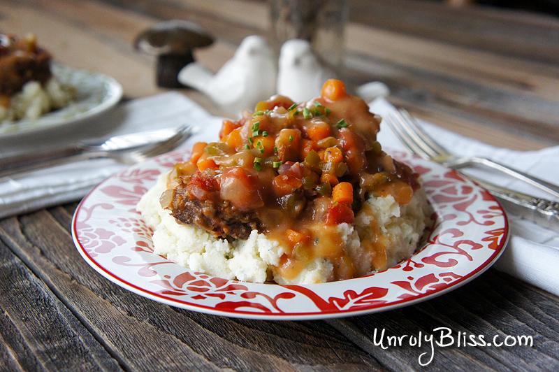 Seasoned Swiss Steak from UnrulyBliss.com