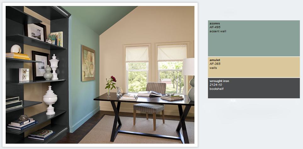 Best home office paint colors home painting ideas - Best paint for office walls ...