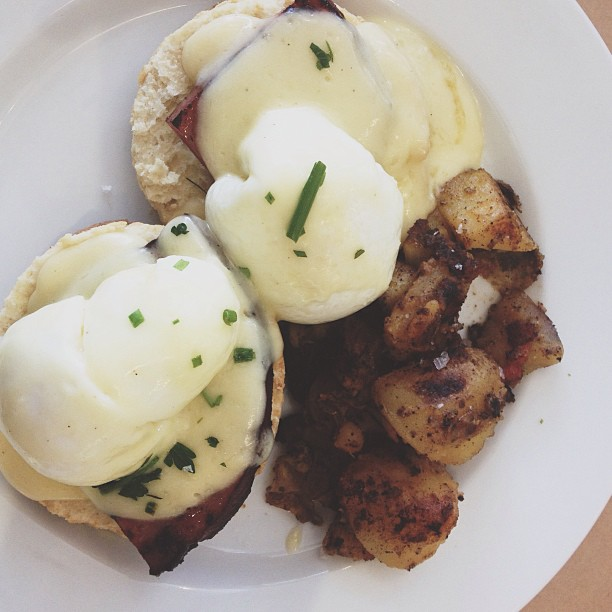 Eggs Benedict from Miami Acme Bakery & Coffee from AndChloe.com