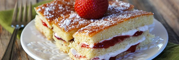 Layered Jam Cakes {and Our Baby Girl Arrived!}