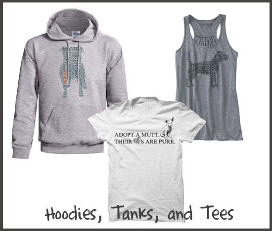 Hoodies, Tanks, and Tees from Dog City & Co.