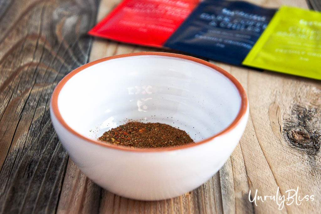 Sun Dried Tomato Pizza seasoning from RawSpiceBar