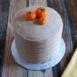 Pumpkin Spice Cake from UnrulyBliss.com